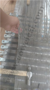 Mwn Stainless Steel Wire Rope Diamond Ferruled Mesh pictures & photos