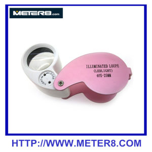 1025L Jewelry Loupe with 2pcs LED light pictures & photos