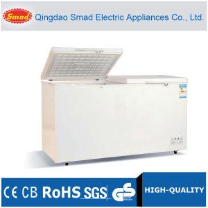 500L Top Open Solid Double Door Chest Freezer pictures & photos