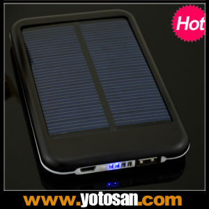 Cell Mobile Phone 5000mAh Power Bank Solar Battery Charger pictures & photos