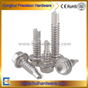 Stainless Steel 410 Flange Hex Head Self Drilling Screws pictures & photos