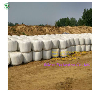 Hot Sale White LLDPE Silage Film Works on All Bale Wrappers pictures & photos