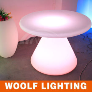 LED Round Rotating Dining Room Tables pictures & photos