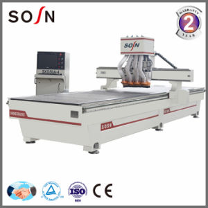Woodworking CNC Router with 2 Spindles for Furniture Making pictures & photos