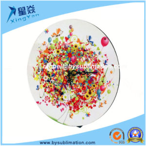 Sublimation Round Wooden Clock with Pointer pictures & photos