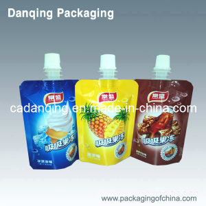 Stand up Pouch with Spout for Jelly (DQ0369) pictures & photos