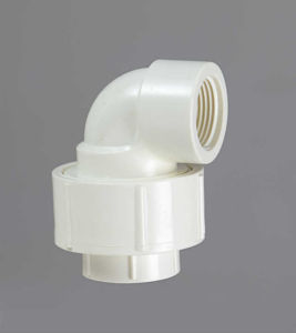 PVC-U Theraded Fittings Female Union Elbow pictures & photos