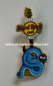 Soft Enamel Metal Badge Pin, Zinc Alloy Gold Medal Badge (LP-51)