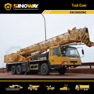 25 Ton Truck Crane with Cummins Engine pictures & photos