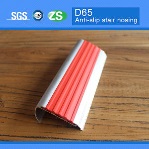 Aluminum Stair Nosing for Tiles PVC Stair Nose pictures & photos