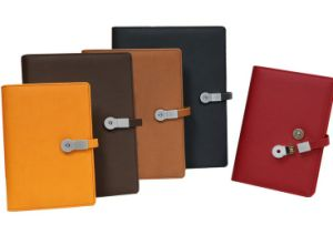 Top Grade Leather Business Planners with USB Flashs pictures & photos