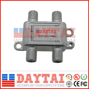 3 Way CATV Splitter with CE Certification pictures & photos