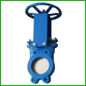 Wafer Knife Gate Valve-Metal Seat Rising Stem Knife Gate Valve pictures & photos