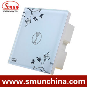 1 Key Touch Switch, Remote Control Wall Switch, White ABS Fireproof 1500W pictures & photos