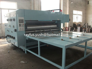 Automatic Flexo Printing Slotting Die Cutting Machine pictures & photos