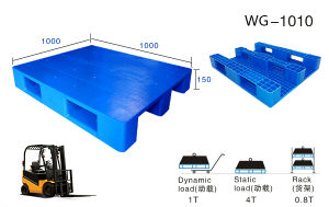 Safety Mesh Warehouse Heavy Hygiene Plastic Pallet pictures & photos