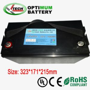12V 100ah Lithium Ion Battery for Storage System pictures & photos