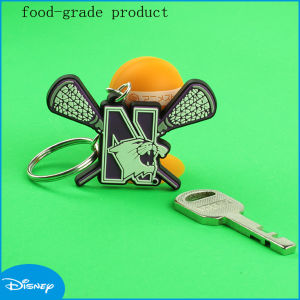 Lovely PVC Key Chain for Advertise