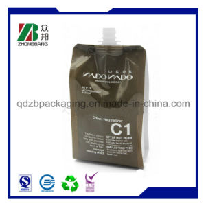High Quality Reusable Liquid Packaging Standing Plastic Spout Pouch pictures & photos