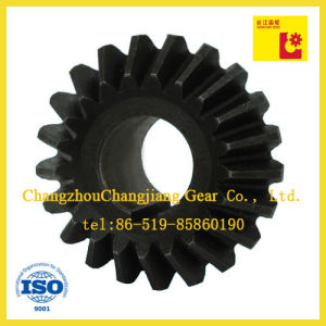 Transmission Straight Teethed Bevel Helical Differential Gear with Keyway pictures & photos