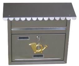 Foshan Stainless Steel Letter Box/Steel Mailbox/Mail Box/Post Box (JHC-2013CS)