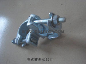 Galvanized British Type Forged Scaffold Swivel Clamp for BS1139 pictures & photos