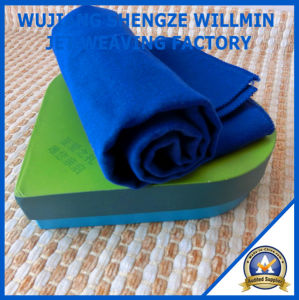 Antibacterial Good Absorb and Quick Dry Microfiber Gift Towel pictures & photos