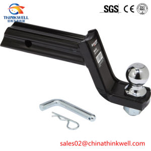 Chrome Plated Trailer Hitch Mount with Ball pictures & photos