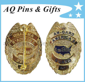 High Quality Metal Military Police Badge in Best 3D Engrave (badge-037) pictures & photos