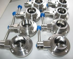 Stainless Steel Heavy Type Welded Butterfly Valve pictures & photos