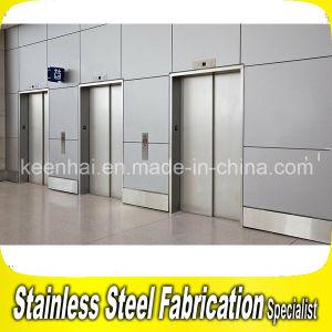 Decorative Stainless Steel Elevator Sliding Door pictures & photos