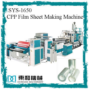 CPP Film Extruder (SYS-CPP1650) pictures & photos