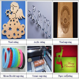 Hot Sale Fabric/Acrylic/Wood CO2 CNC Laser Cutting Machine pictures & photos