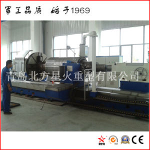 High Quality Full Metal Shield CNC Lathe for Turning Sugar Mill Cylinder (CG61200) pictures & photos