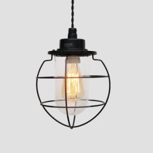 Artificial and Industrial Style LED Pendant Lamp Made of Iron Wire and Glass with Ce and RoHS (FC1213) pictures & photos