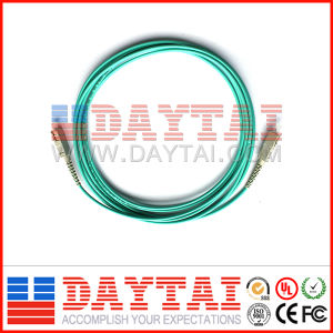 Sc/ PC to SC/PC Mm Om3 Fiber Optic Patch Cord (OM3 SC/PC) pictures & photos