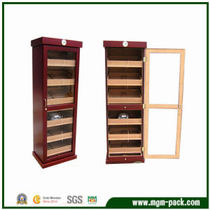 Large Capacity Cigar Cabinet with Full Glass Frame pictures & photos