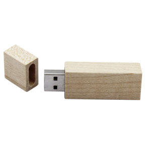 Wooden Square USB Flash Drive Gum USB Flash Disk pictures & photos
