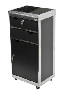Newest MDF Trolley in Black for Barber Shop (MY-G311) pictures & photos