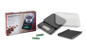 Digital Kitchen Waterpoor Drip Electronic Coffee Scale with Timer Function pictures & photos