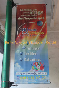 Outdoor Advertising Street Pole Flag Sign (BT-SB-012) pictures & photos