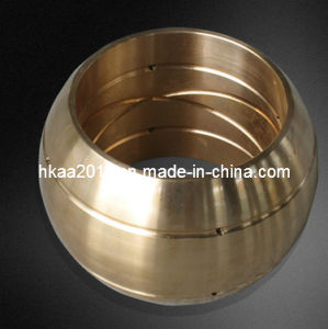 CNC Precision Machined Sintered Bronze/Brass Bushing pictures & photos
