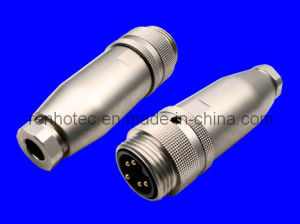 Straight Male or Female 5pin M23 Connector (RH-IO-0011) pictures & photos