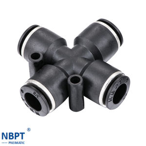 Quick Connecting Tube Fittings Brass Fittings/Pza pictures & photos