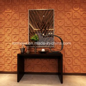 Modern Textured Soundproofing 3D Wall Panel for Company Interior Decoration pictures & photos