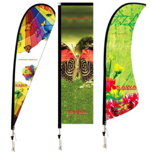 Outdoor Advertising Custom Polyester Flag pictures & photos