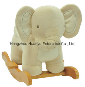 Factory Supply Rocking Animal -Organic Elephant Rocker pictures & photos