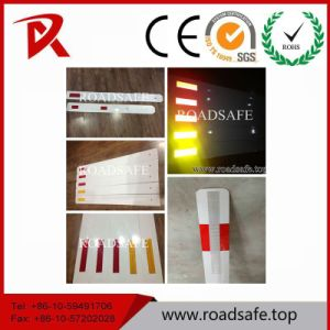 Delineator Post PVC Road Delineators Reflective Delineator with Reflective Sticker or Reflective Panel pictures & photos