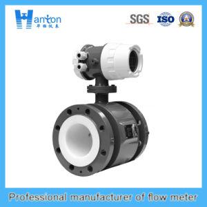 Black Carbon Steel Electromagnetic Flowmeter Ht-0274 pictures & photos