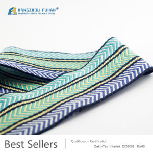 High Quality Nylon Jacquard Webbing for Sewing pictures & photos